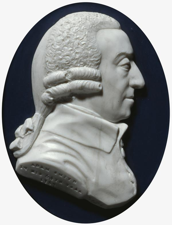 Adam Smith, 1723 - 1790. Political economist (Dated 1787)