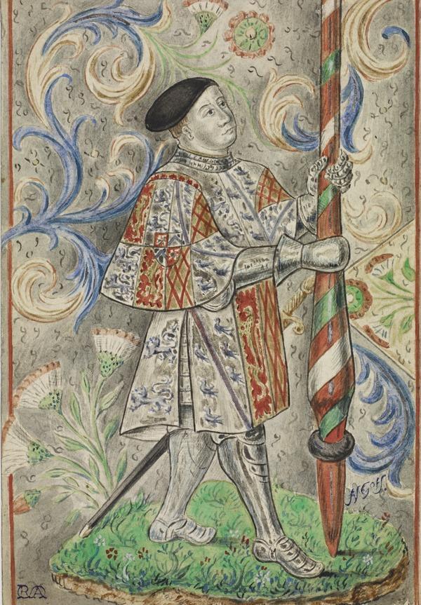 Sir John Talbot, 1st Earl of Shrewsbury, 1390 - 1453. Lord High ...