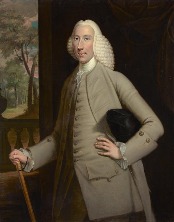 James Spreull, d. 1769. Merchant in Glasgow and benefactor of the Society for the Propagation of the Gospels in the Highlands and Islands (About 1760)
