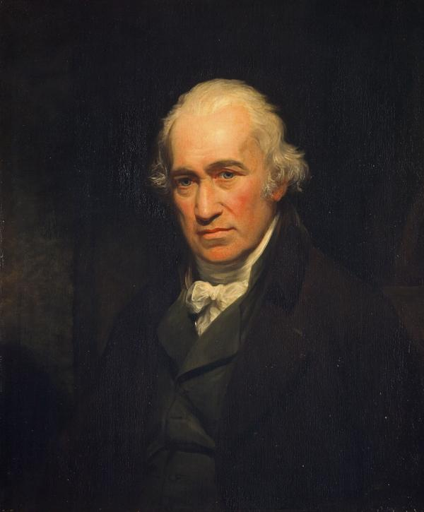 James Watt, 1736 - 1819. Engineer, inventor of the steam engine (1806)