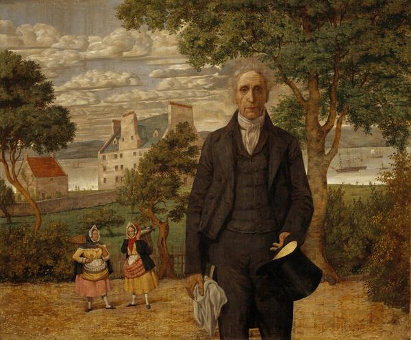Sir Alexander Morison, 1779 - 1866. Alienist (1852)