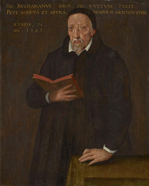 George Buchanan [Seòras Bochanan], 1506 - 1582. Historian, poet and reformer (1581)