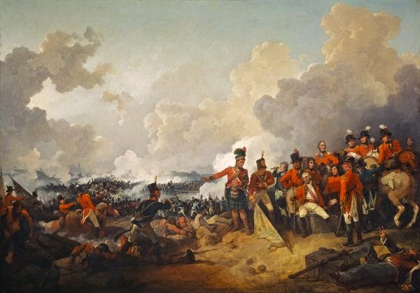 The Battle of Alexandria, 21 March 1801 (1802)