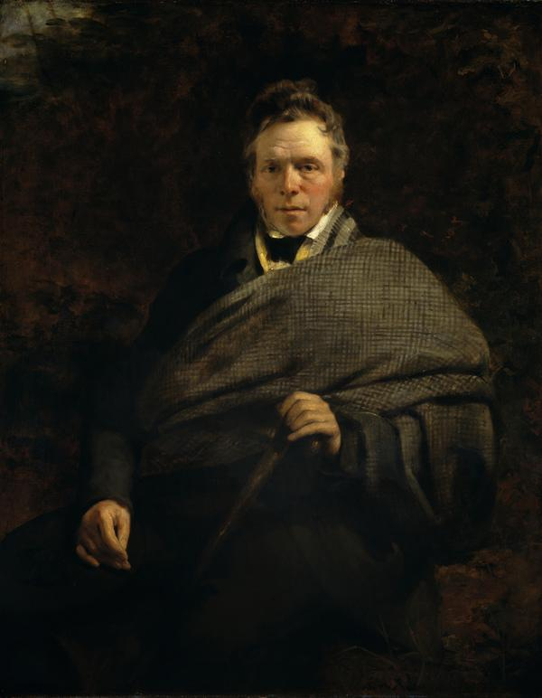 James Hogg, 1770 - 1835. Poet; 'The Ettrick Shepherd' (1830)
