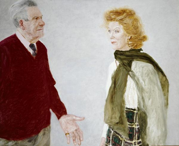 Ludovic Kennedy, 1919 - 2009, and Moira Shearer, 1926 - 2006 (1993)