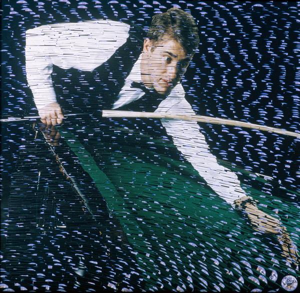 Stephen Hendry, b. 1969. Snooker player (1996)