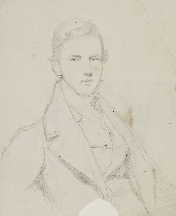 An Unknown Gentleman (recto) (1807 - 1835)