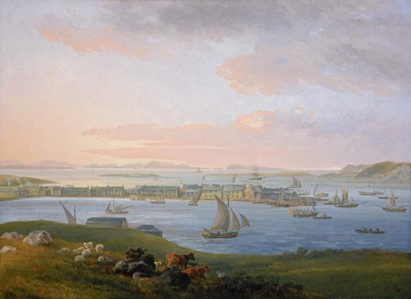 A View of Stornoway (1798)