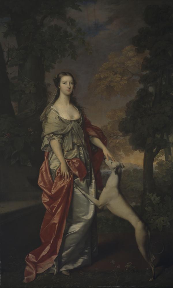 Elizabeth Gunning, Duchess of Hamilton and later Duchess of Argyll, 1733 - 1790 (1752 / 1753)