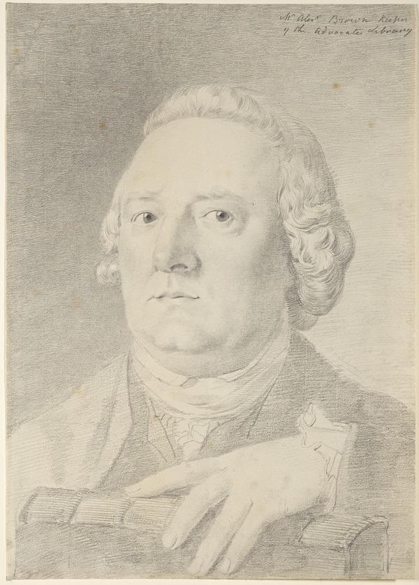 Alexander Brown, fl. 1776 - 1794. Keeper of the Advocates' Library