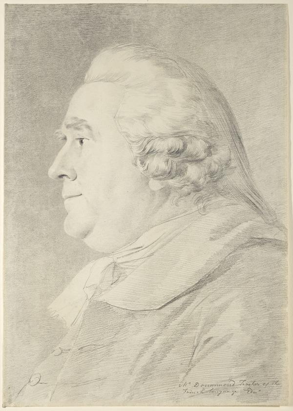Alexander Drummond, fl. 1758 - 1815. Teacher of French and French Secretary to the Society of Antiquaries of Scotland