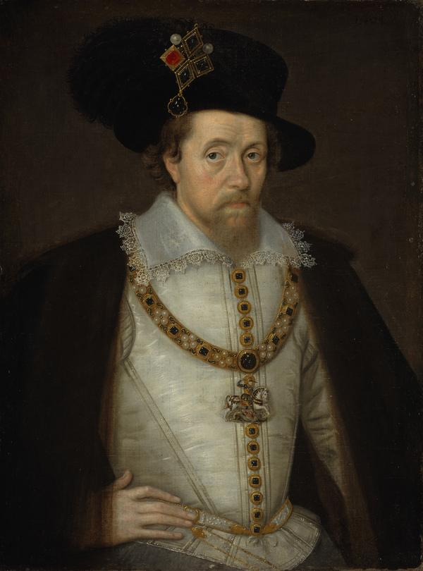 James VI and I, 1566 - 1625. King of Scotland 1567 - 1625. King of England and Ireland 1603 - 1625 (1604)