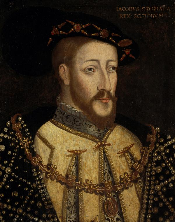 James V, 1512 - 1542. Father of Mary, Queen of Scots. Reigned 1513 - 1542 (About 1579)