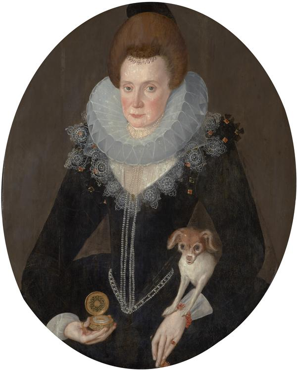 Lady Arabella Stuart, c 1577 - 1615. Only daughter of the 6th Earl of Lennox (1605)