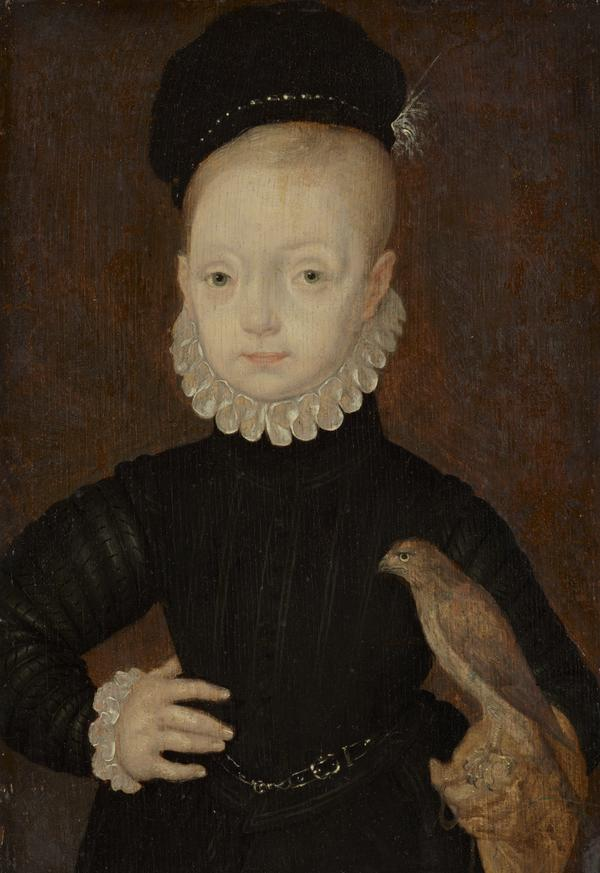 James VI and I, 1566 - 1625. King of Scotland 1567 - 1625. King of England and Ireland 1603 - 1625 (As a boy) (About 1574)