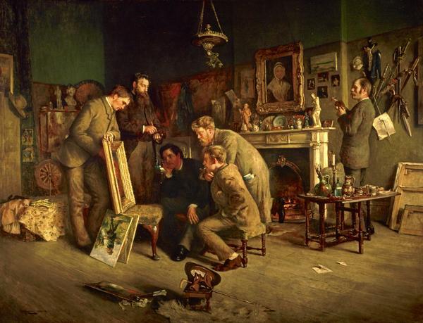 Friendly critics (1882 - 1883)