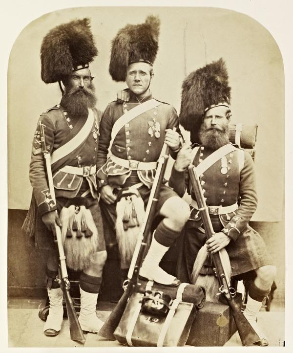 Crimean Heroes : William Gardner, Donald McKenzie and George Glen (1856)
