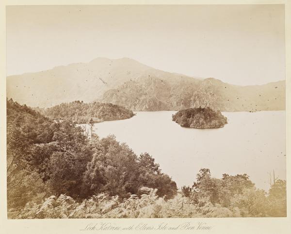 Loch Katrine with Ellen's Isle and Ben Venue