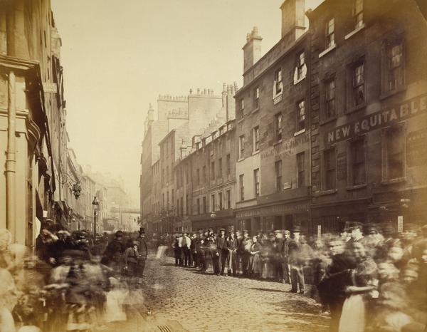Saltmarket from Bridgegate (1868 - 1871)