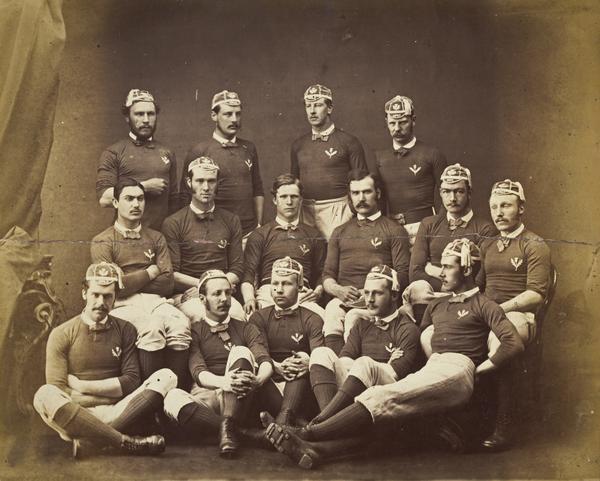 Scotland Rugby Team 1877