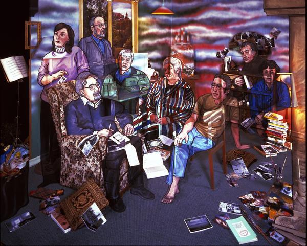 The Kelvingrove Eight: Janice Galloway, Alasdair Gray, Tom Leonard, Bernard MacLaverty, Liz Lochhead, Alan Spence, Jeff Torrington, Agnes Owens (2000)