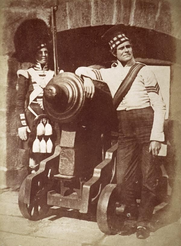 Sergeant and Private of the 92nd Gordon Highlanders. Known as 'The Porthole' [Military 1] (April 1846)