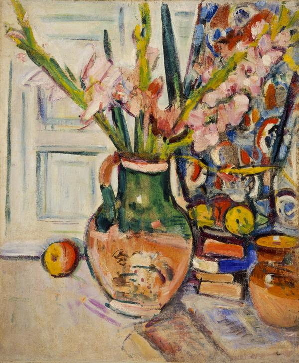 Still Life with Gladioli (About 1927 - 1930)