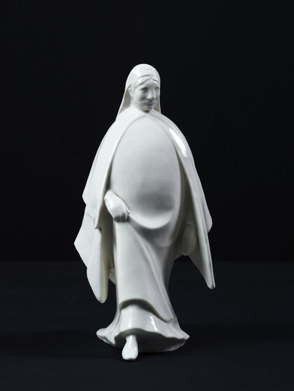 Schreitende Frau or Schreitende Nonne [Walking Woman or Walking Nun] (1909)