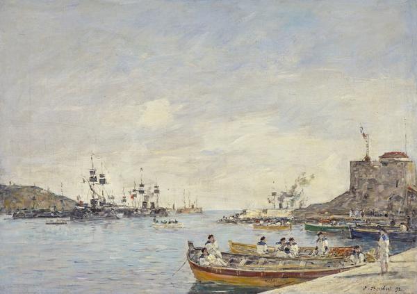 Villefranche Harbour (1892)