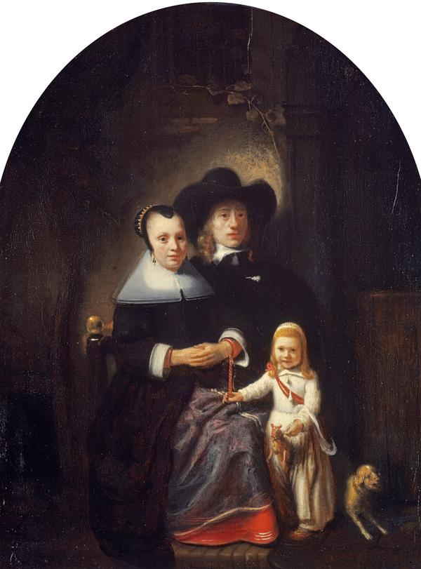 A Dutch Family Group (Probably mid 1650s)
