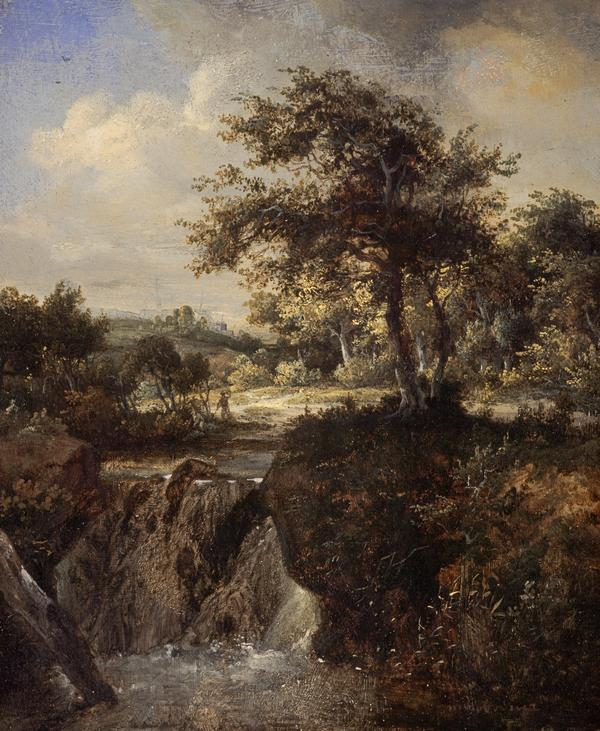 A Waterfall in a Wood (Early 1660s)