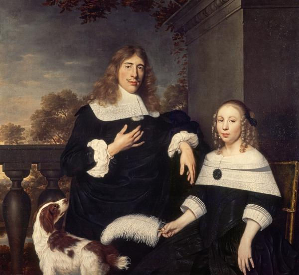 Portrait of a Couple (possibly 1650s)