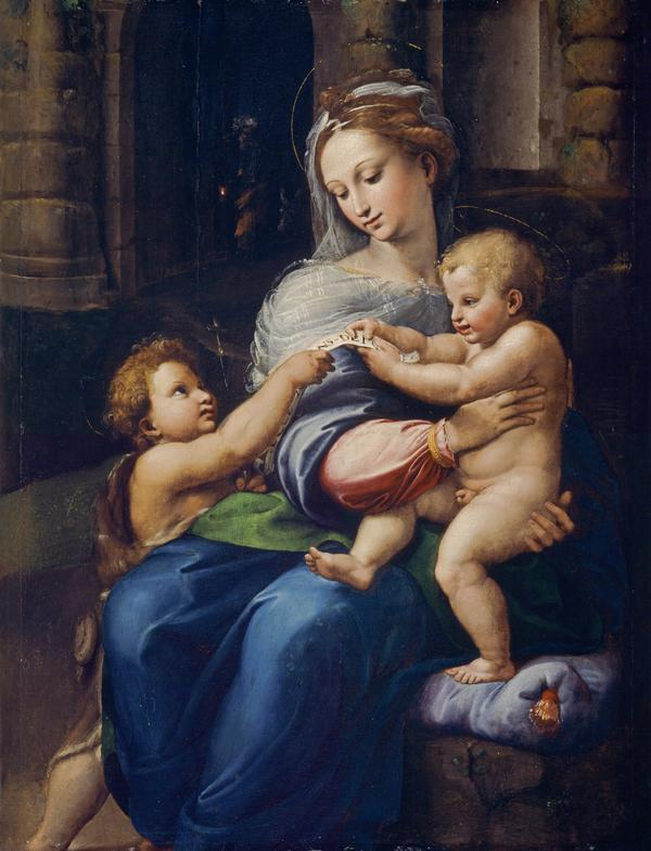The Holy Family with the Infant Saint John the Baptist (Vierge de Novar) (About 1518 - 1523)
