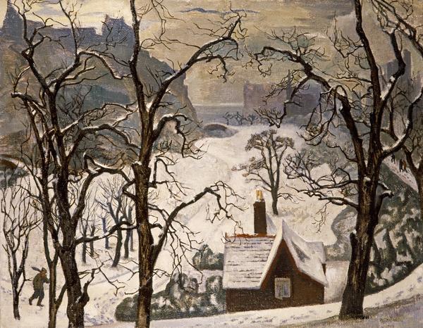 Edinburgh in Snow (About 1928)