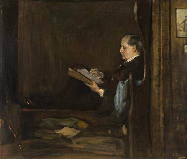 Sir James Matthew Barrie, 1860 - 1937. Author (1936)