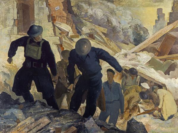 Rescue Party, Kilmun Street [Maryhill, Glasgow] (1941)