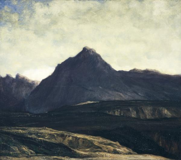 The Hill of the Winds (About 1913)