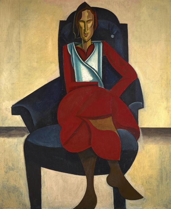 Seated Figure (About 1921)