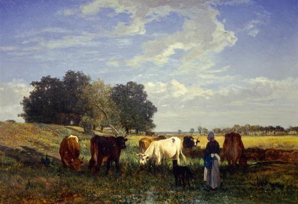 Cattle Grazing in Touraine (1854 - 1857)