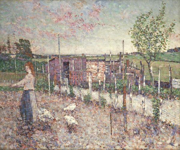 Poultry Yard, Gartcosh (1906)