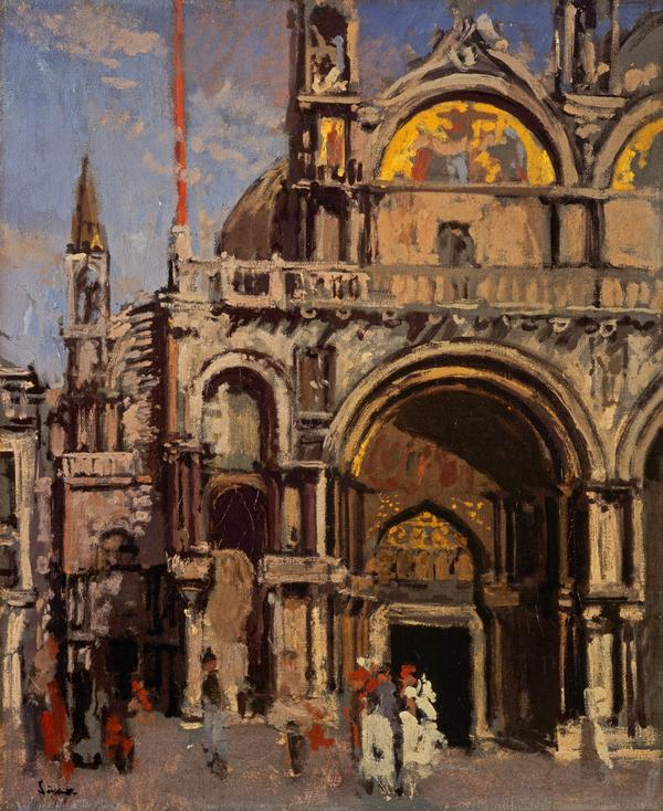 Corner of St Mark's, Venice