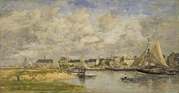 Trouville Harbour (1873)
