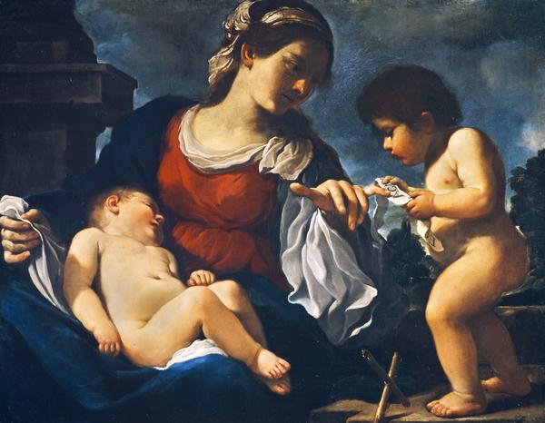 The Virgin and Child with the Infant Saint John the Baptist (About 1615)