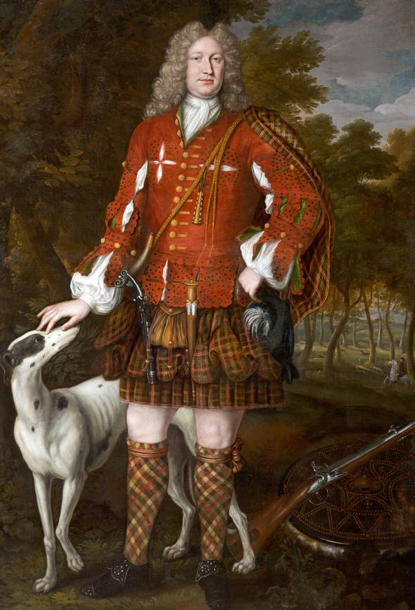 Kenneth Sutherland, 3rd Lord Duffus, d. 1734. Jacobite (About 1712)
