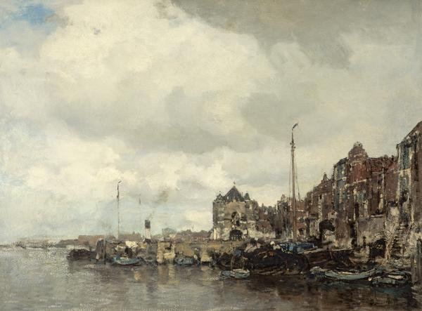 On the Amstel (About 1885)