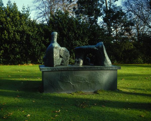 Two-Piece Reclining Figure No. 2 (1960)