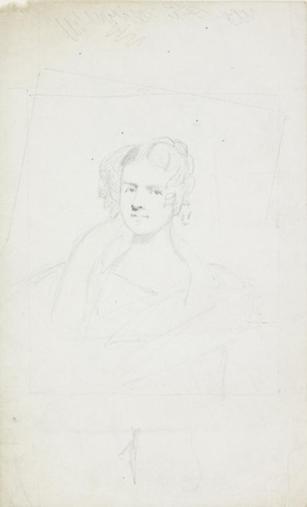 An Unknown Lady (recto) (1807 - 1835)