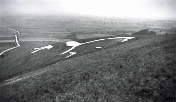 The White Horse, Uffington, Berkshire (1937)