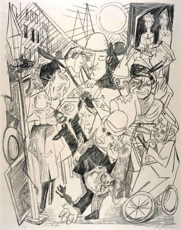 Die Hölle (Hell): Die Strasse (The Street) (1919)