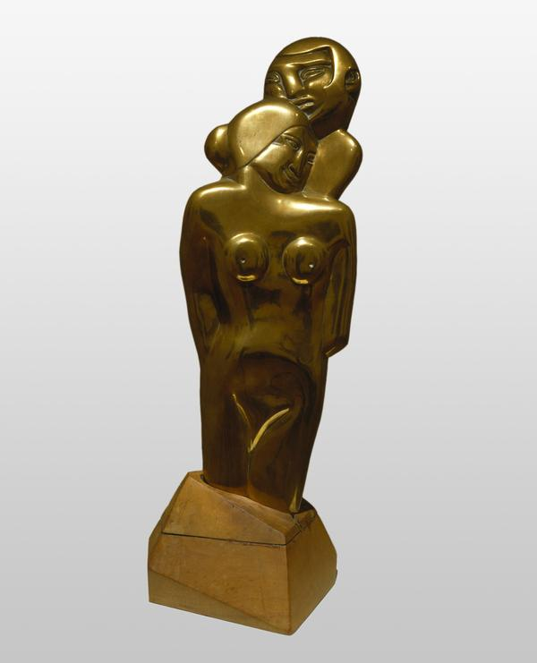 The Embracers (Samson and Delilah) (1913 - 1914 (posthumously cast 1920s))